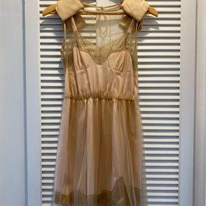 Rodarte for Target Mesh Dress (Nude)